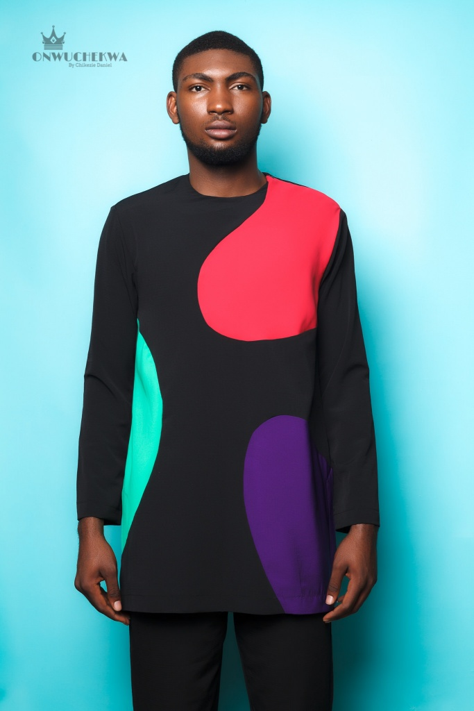 color blocked long sleeve