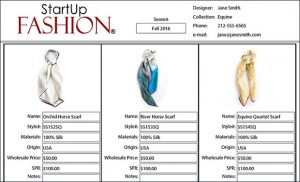 Fashion Line Sheets: An Integral Part of any Fashion Brand ...