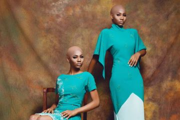 Bald, Chick & Edgy Fluidity: Amarelis SS'17