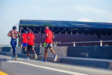 In Preparation For The Lagos City Marathon