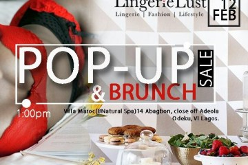 Lingerie Lust's Pop–Up & Brunch- See It! Lust It! Shop It!