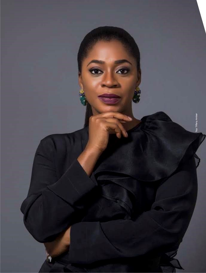 Folake Coker, Nigeria: Founder of Tiffany Amber, a clothing and lifestyle brand.