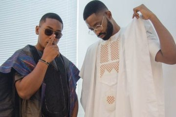 Timini Egbuson and ric hassani