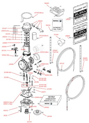Rotax FR125 Parts Diagram