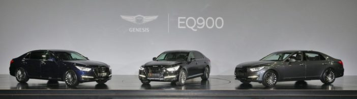 Genesis esimene launch: G90/EQ900