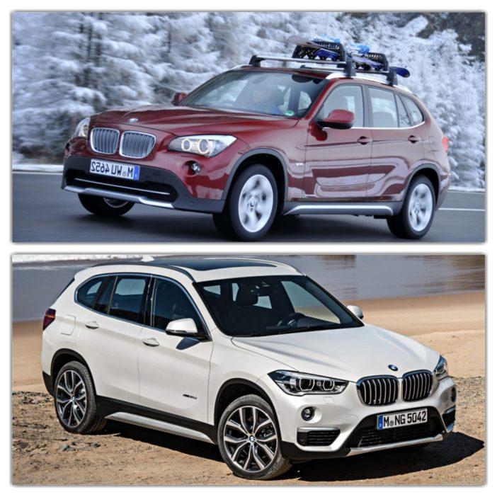 BMW X1 põlvkonnad võrdluses: uus on eelkäijast nõksu lühem ja üldmuljelt sportlikum