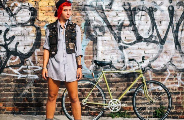 Fotograaf pilt tüdruk ratas