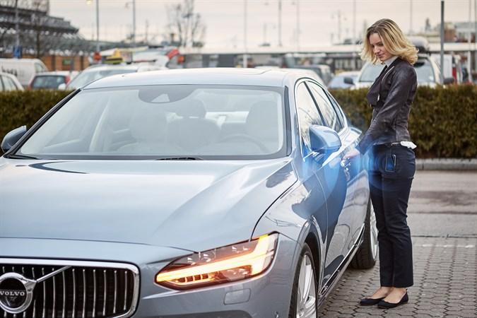 Volvo autovõtmed