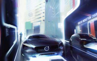 Üks Volvo elektriauto