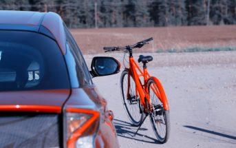 Ratas ja auto 10 kiri jalgrattaga