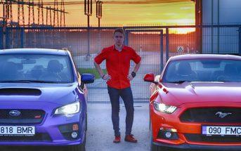 Auto, mees, STI, Mustang