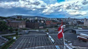 Taani lipp üle Norra pealinna