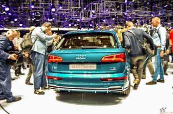 Audi Q5 Pariisi autonäitusel