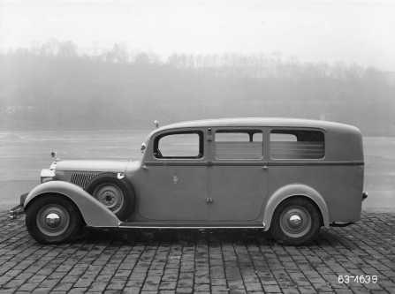 Škoda 640 Superb kiirabi