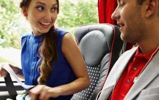 turvavöö bussi