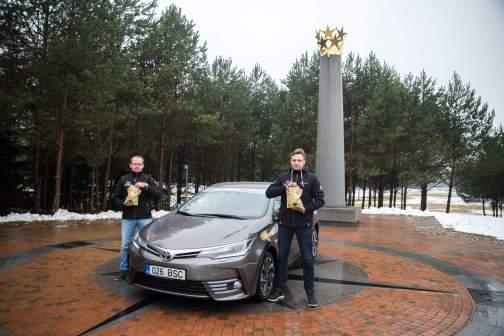 Ruoščiai, Leedu Vabariigi keskpunkt