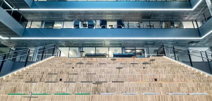 Moodne avatud kontor soosib jalgrattasõitu ja ühistranspordi kasutamist