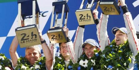 Porsche võttis dramaatilises lõppfaasis 19. Le Mans' üldvõidu