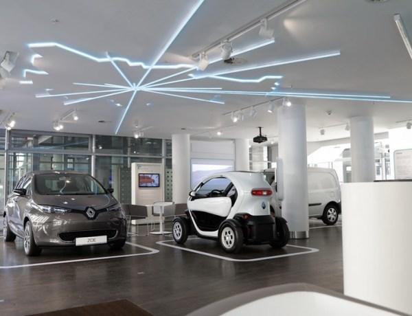 Nüüd saab ka Berliinis läbi astuda Renault moodsast elektriautode poest