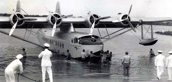 Põnev ajalugu: 85 aastat tagasi tegi esimese lennu Sikorsky S-42 reisi-vesilennuk