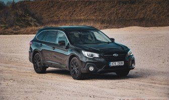Subaru Outback Northern Lights
