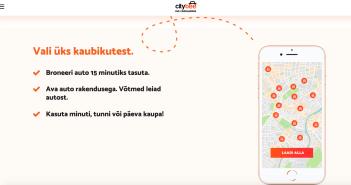 Tallinnas saab nüüdsest kasutada CityBee ööpäevaringset kaubikujagamise teenust