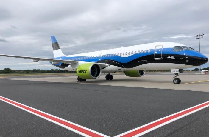 airbaltic lennuk tallinna lennujaama