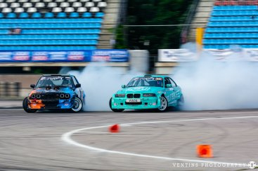 Latvia drift season opening 2020