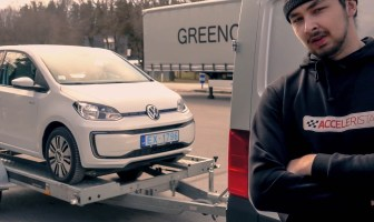 Kojamehed ja VW e-up!