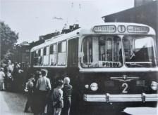 Troll 2 proovisõidul Hipodroomi lõpp-peatuses 5.07.1965