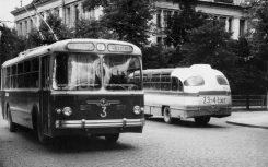 Troll ZIU-5 ja buss LAZ-695, 10.07.1965