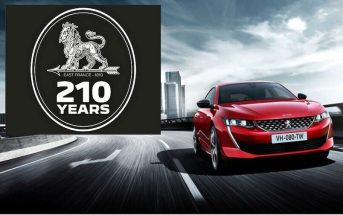 Peugeot 210 aastat