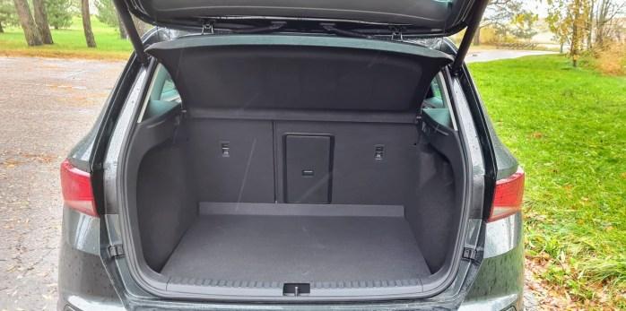 SEAT Ateca pagasiruum