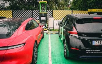 elektrilevi elektriautode