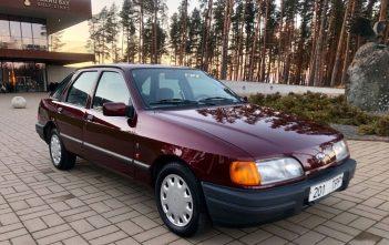 Punane Ford Sierra