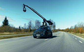 Mercedes-Benz ML63 AMG kaameraauto