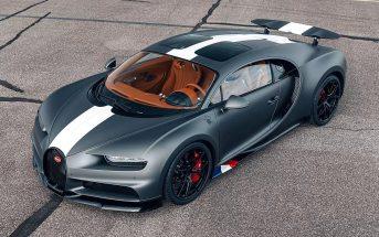 Bugatti Chiron erimudel