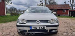 VW Golf nädala kuulutus