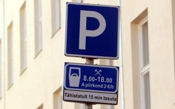 Parkimine märk