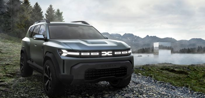 Dacia tutvustas uut ideeautot Bigster Concept