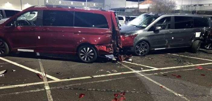 Pahane ekstöötaja hävitas 5 mln euro eest Mercedeseid