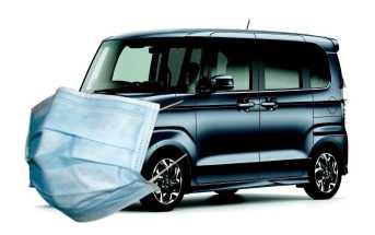 Honda N-Box näomaskiga