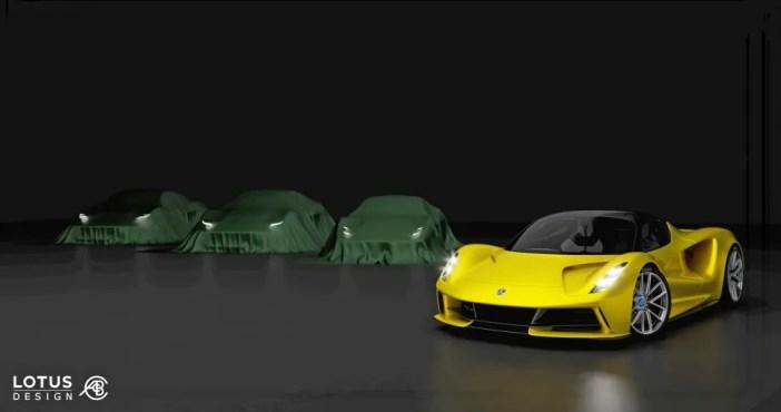 Lotuse uued mudelid