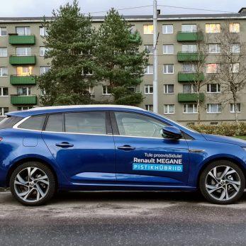 Renault Megane Hybrid E-TECH