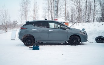 Nissan Leaf jäärada