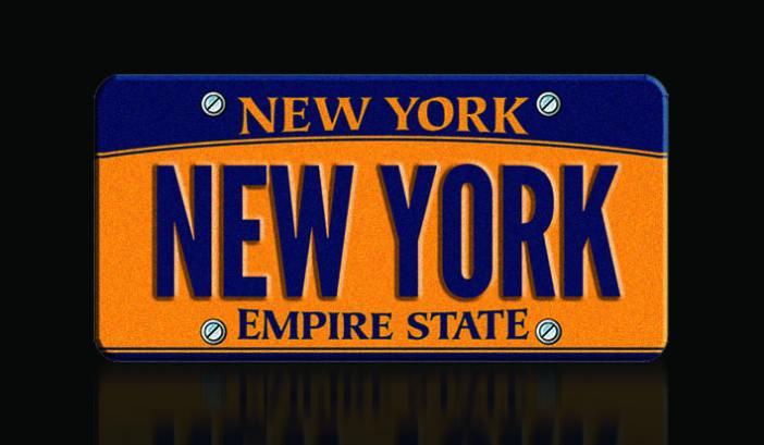 New York numbrimärk