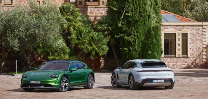 Porsche Taycan Cross Turismo: elektriautode universaalsõdur