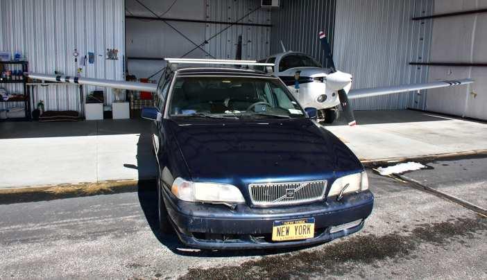 New York Volvo V70