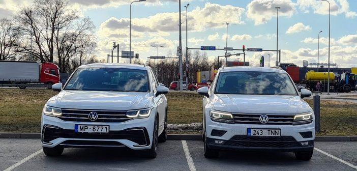 Nädala paar – Volkswagen Tiguan ehk leia kümme erinevust!