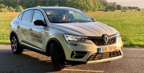 Renault Arkana: ootamatu ägedik